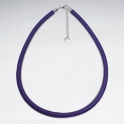 Thick Nappa Leather Necklace