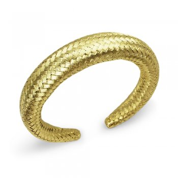 Queen of Style Chunky Rope Cord Bangle