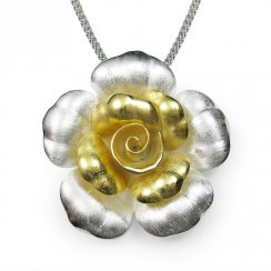 Rose Bloom Inspired Pendant