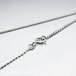 Serpentine 925 Silver Chain