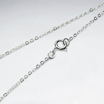 Single Cable 925 Silver Chain