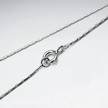 Single Round Cable 925 Silver Chain