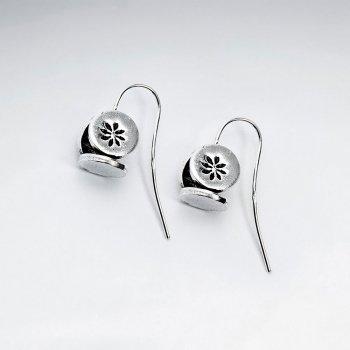 Square Dice Inspired Hook Earrings