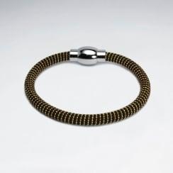 """Stainless Steel """"Bumblebee"""" Bracelet"""