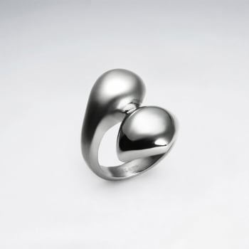 Stainless Steel Fashion Wrap Ring