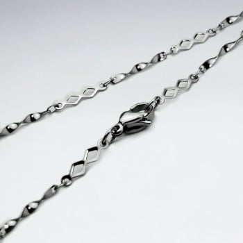Stainless Steel Marquis Chain Necklace Pack Of 5 Pieces