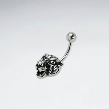 Stainless Steel Tiger Head Body Piercing