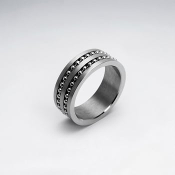 Stainless SteelBead Ball Wrap Ring