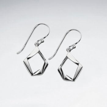 Sterling Silver Abstract Masterpiece Dangle Earrings