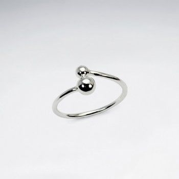 Sterling Silver Classic Ball Ring