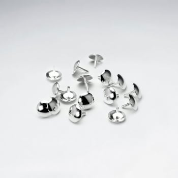 Sterling Silver Cup Pin Pack Of 40 Pieces