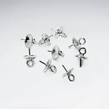 Sterling Silver Earring Post Pack Of 40 Pieces