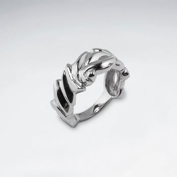 Sterling Silver Elaborate Designs Ring