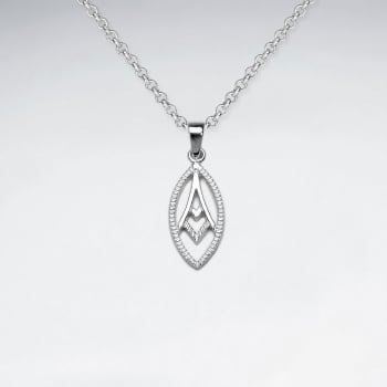 Sterling Silver Forever Paris Pendant