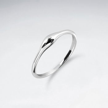 Sterling Silver Freeform Sculpted Ring