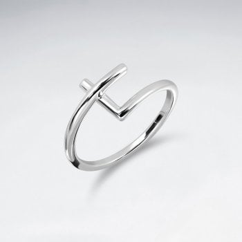Sterling Silver Full Twist Ring