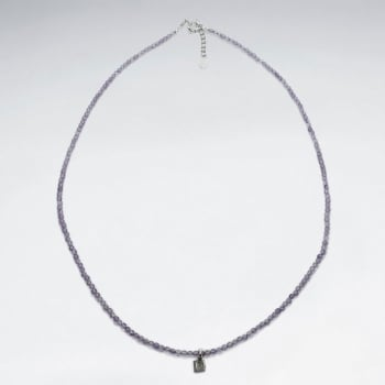 Sterling Silver Gentle Graces Amethyst Necklace