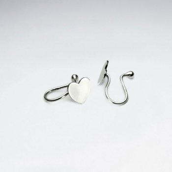 Sterling Silver Hearts Ear cuffs