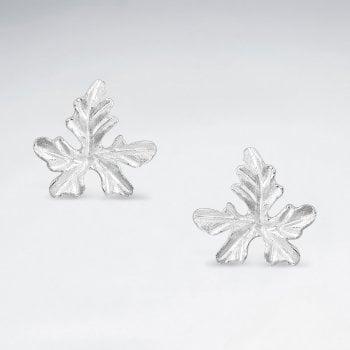 Sterling Silver Ivy Gourd Earrings