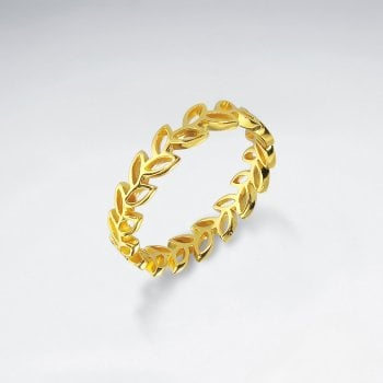 Sterling Silver Laurel Wreath Ring