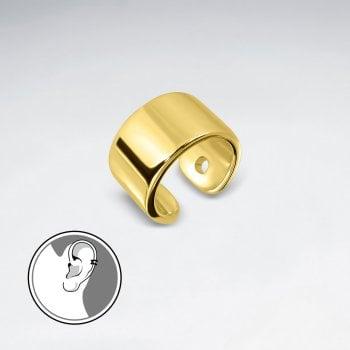 Sterling Silver Minimalist Ear Cuff Earrings