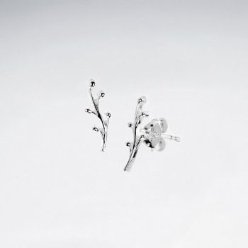 Sterling Silver Natural Elements Earrings
