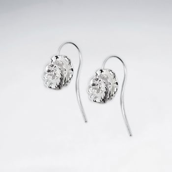 Sterling Silver Swirling Blossom Earrings