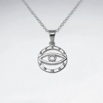 """The Eye of Discernment"" Sterling Silver Pendant"