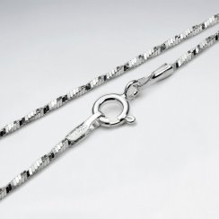 Twisted 925 Silver Chain